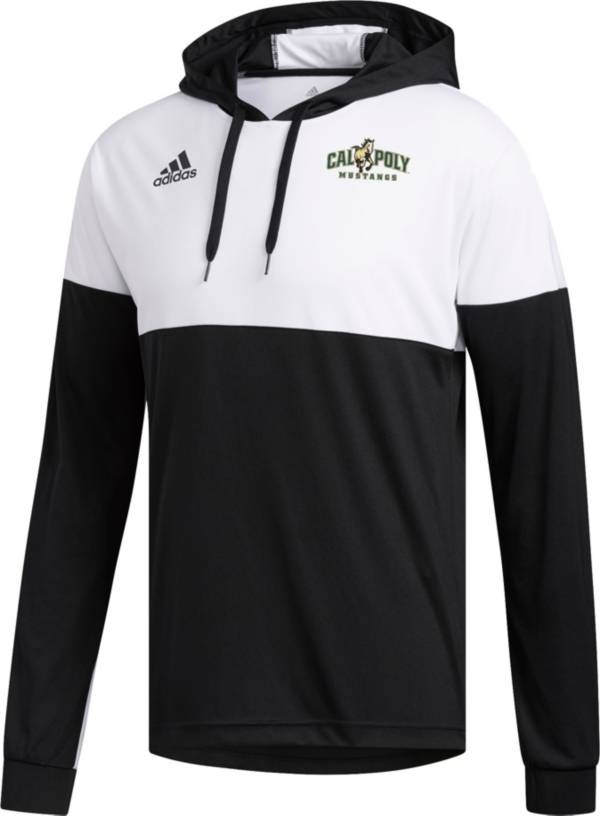 adidas Men's Cal Poly Mustangs Legend Shooter Long Sleeve Black Shirt product image