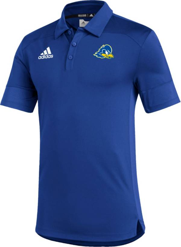 adidas Men's Delaware Fightin' Blue Hens Blue Under the Lights Coaches Sideline Polo product image