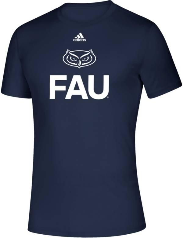 adidas Men's Florida Atlantic Owls Creator Blue T-Shirt product image