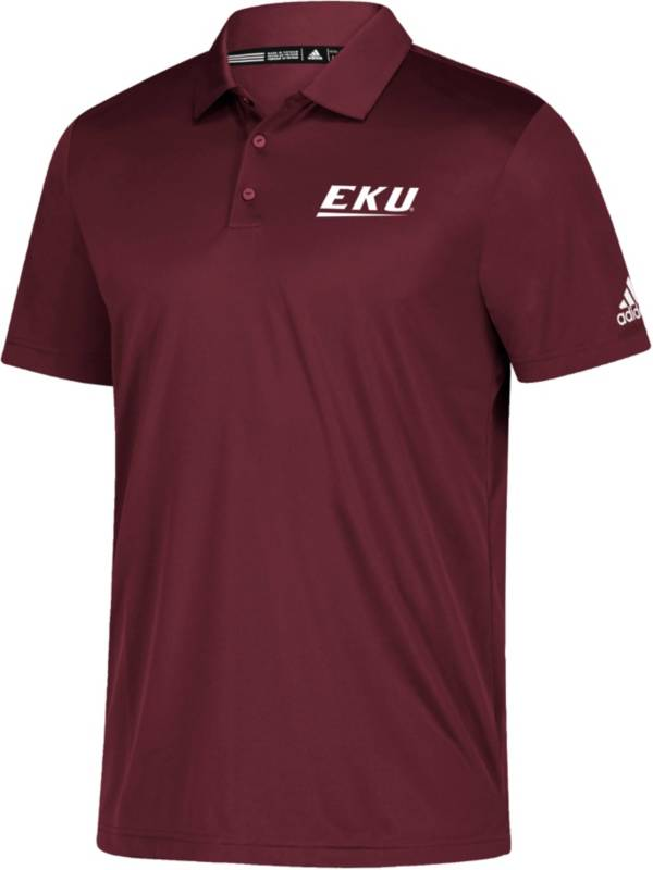adidas Men's Eastern Kentucky Colonels Grind Maroon Polo product image