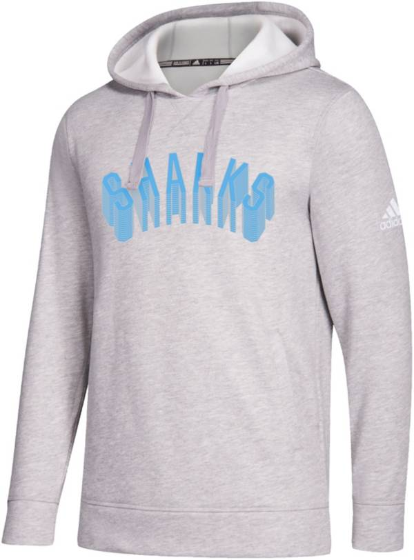 adidas Men's LIU Sharks Grey Fleece Hoodie product image