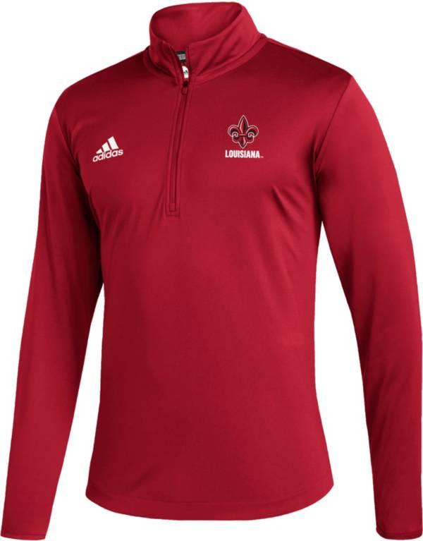 adidas Men's Louisiana-Lafayette Ragin' Cajuns Under Red Quarter-Zip Pullover product image