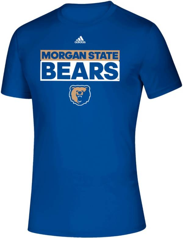 adidas Men's Morgan State Bears Blue Creator T-Shirt product image