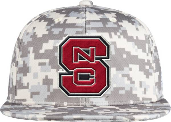 adidas Men's NC State Wolfpack Camo Fitted Wool Baseball Hat product image