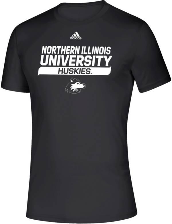 adidas Men's Northern Illinois Huskies Creator Black T-Shirt product image
