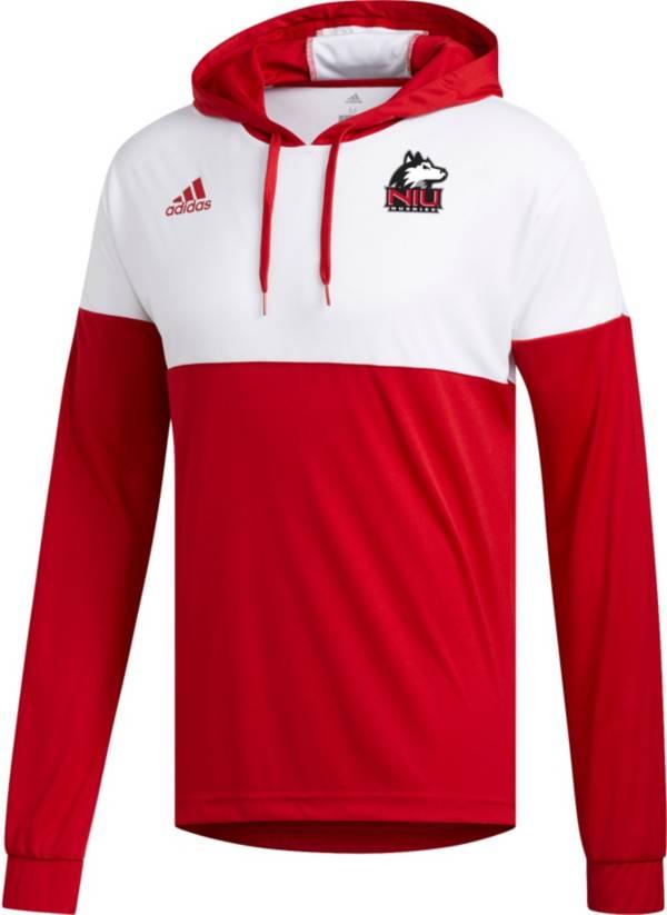adidas Men's Northern Illinois Huskies Cardinal Legend Shooter Long Sleeve Shirt product image