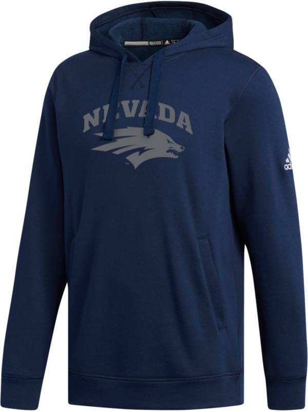 adidas Men's Nevada Wolf Pack Navy Fleece Hoodie product image