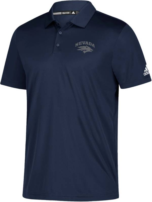 adidas Men's Nevada Wolf Pack Grind Navy Polo product image