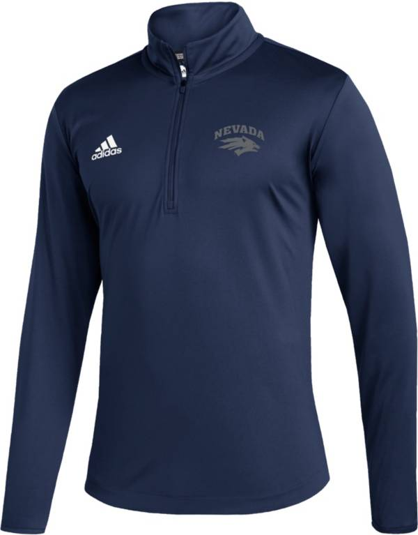adidas Men's Nevada Wolf Pack Under Navy Quarter-Zip Pullover product image