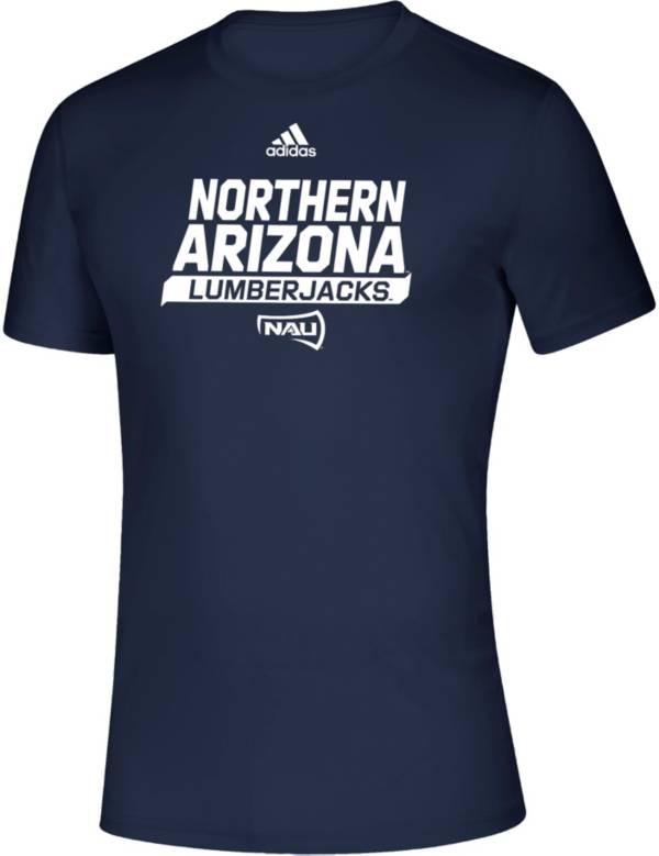adidas Men's Northern Arizona Lumberjacks Creator Blue T-Shirt product image