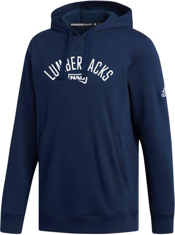 adidas Men's Northern Arizona Lumberjacks Blue Fleece Hoodie product image
