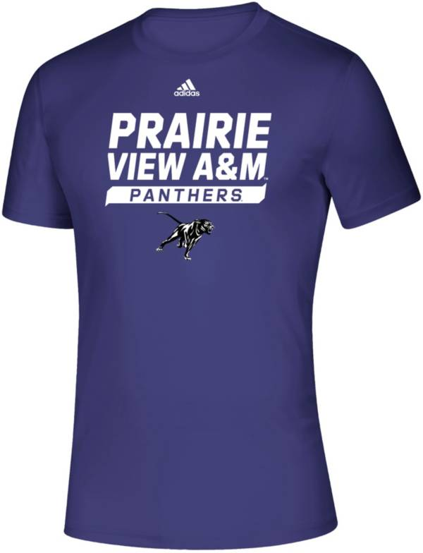 adidas Men's Prairie View A&M Panthers Purple Creator T-Shirt product image