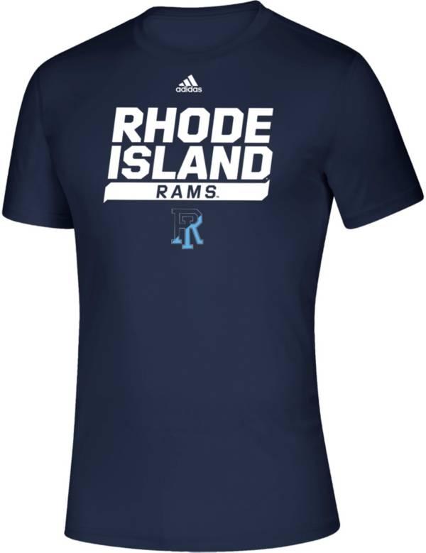 adidas Men's Rhode Island Rams Creator Navy T-Shirt product image