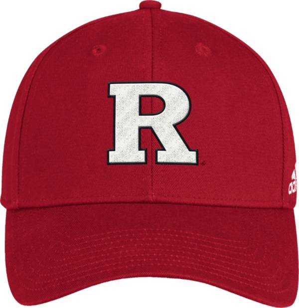 adidas Men's Rutgers Scarlet Knights Scarlet Structured Wool Adjustable Hat product image