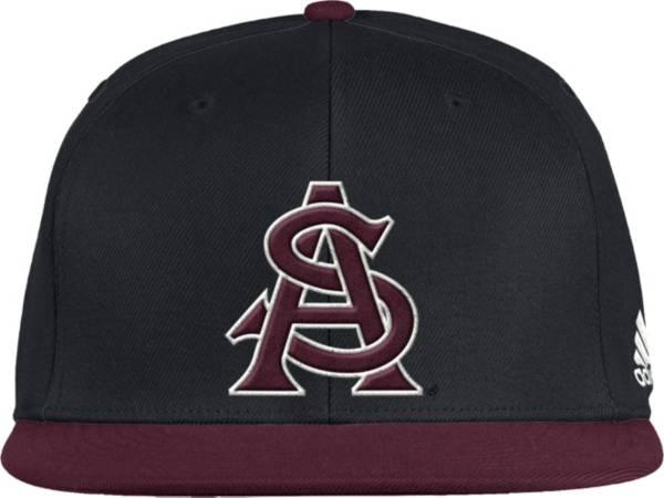adidas Men's Arizona State Sun Devils Fitted Wool Baseball Black Hat product image