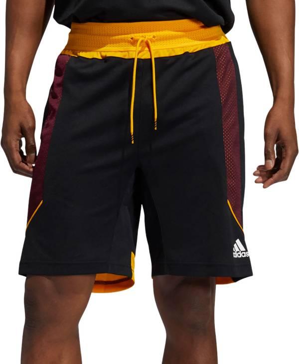adidas Men's Arizona State Sun Devils Black Retro Basketball Shorts product image