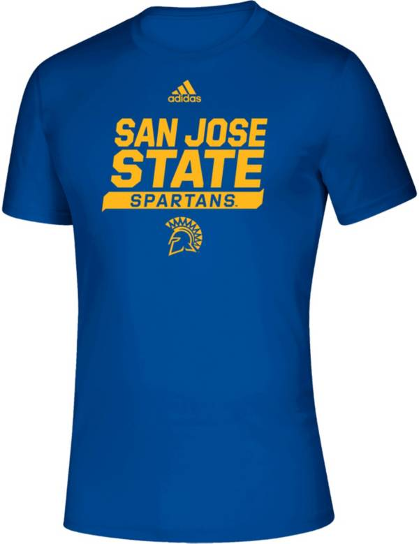 adidas Men's San Jose State  Spartans Creator Blue T-Shirt product image