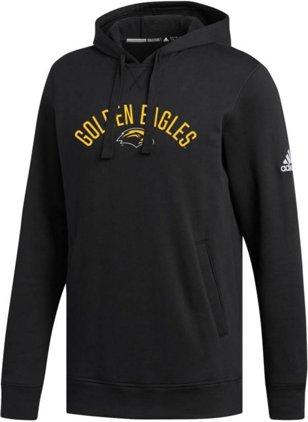 adidas Men's Southern Miss Golden Eagles Black Fleece Hoodie product image