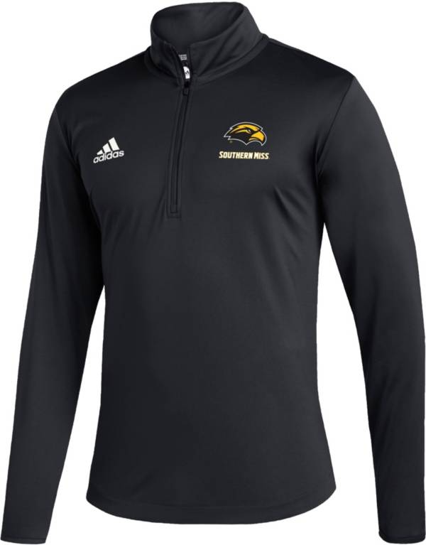 adidas Men's Southern Miss Golden Eagles Under Black Quarter-Zip Pullover product image