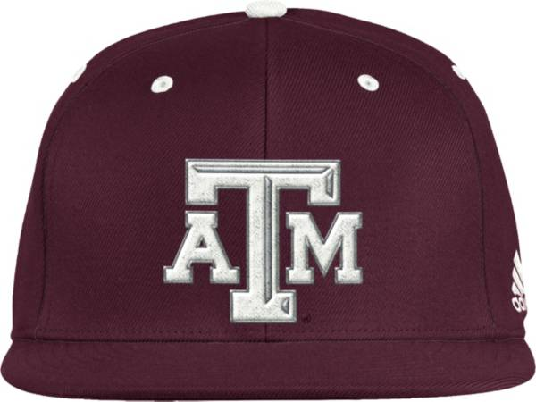 adidas Men's Texas A&M Aggies Maroon Fitted Wool Baseball Hat product image