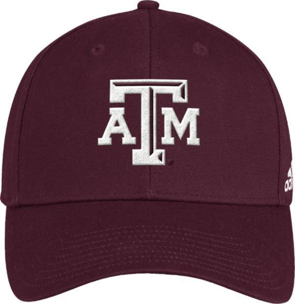 adidas Men's Texas A&M Aggies Maroon Structured Wool Adjustable Hat product image
