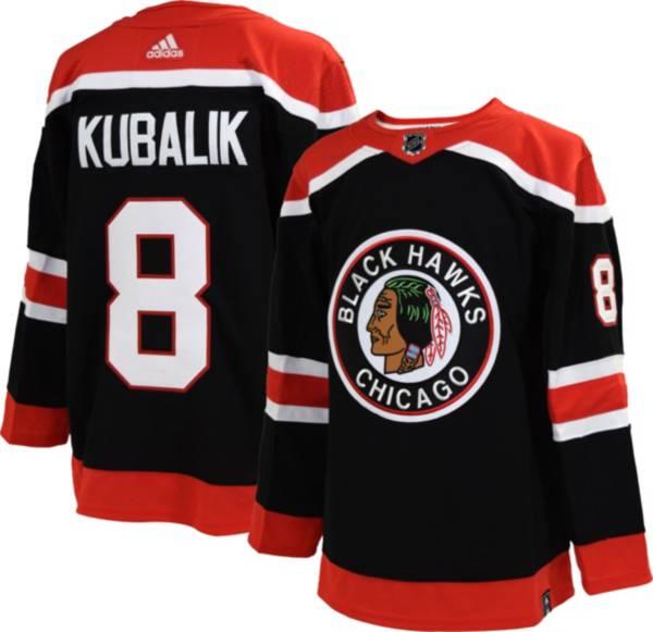adidas Men's Chicago Blackhawks Dominik Kubalik #8 Reverse Retro ADIZERO Authentic Jersey product image
