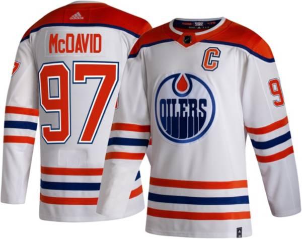 adidas Men's Edmonton Oilers Connor McDavid #97 Reverse Retro ADIZERO Authentic Jersey product image