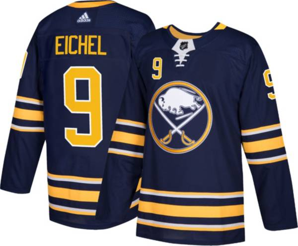 adidas Youth Buffalo Sabres Jack Eichel #9 Navy Authentic Home Jersey product image