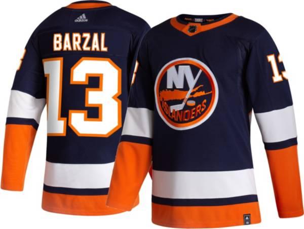 adidas Men's New York Islanders Mathew Barzal #13 Reverse Retro ADIZERO Authentic Jersey product image