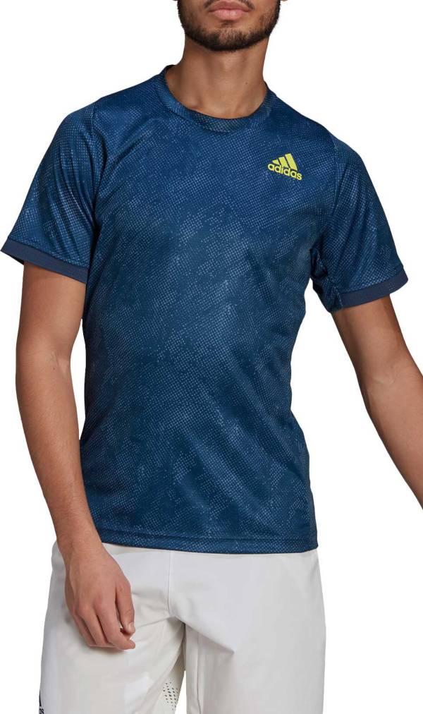 adidas Men's Freelift Short-Sleeve Tennis T-Shirt product image