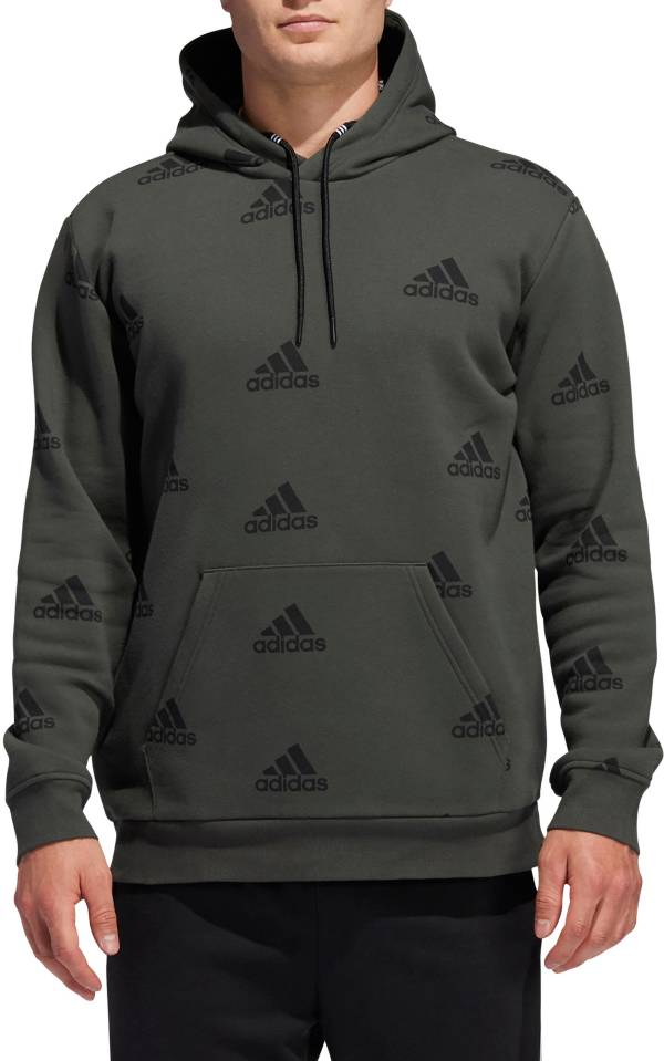 adidas Men's Postgame Allover Print Hoodie product image