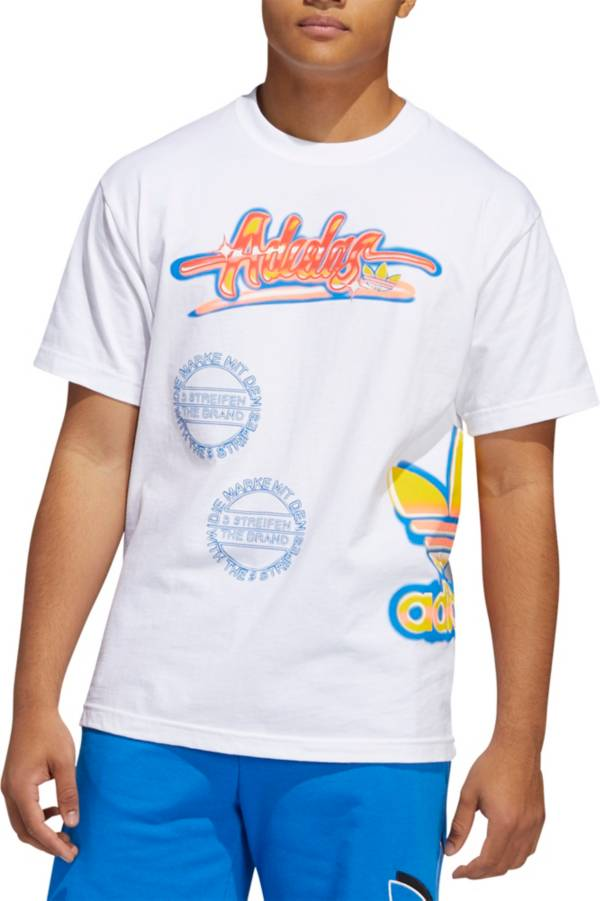 adidas Originals Men's Airbrush Multi Graphic T-Shirt product image