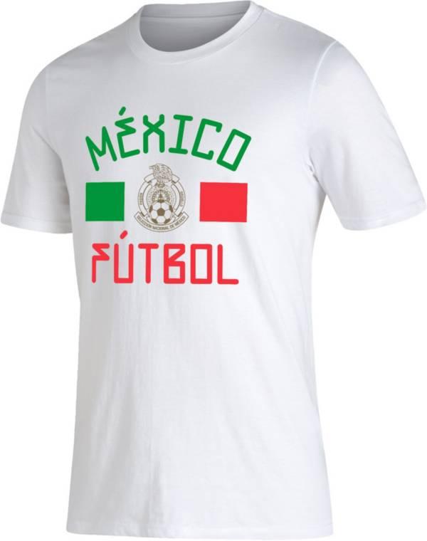 adidas Men's Mexico Futbol Amplifier White T-Shirt product image
