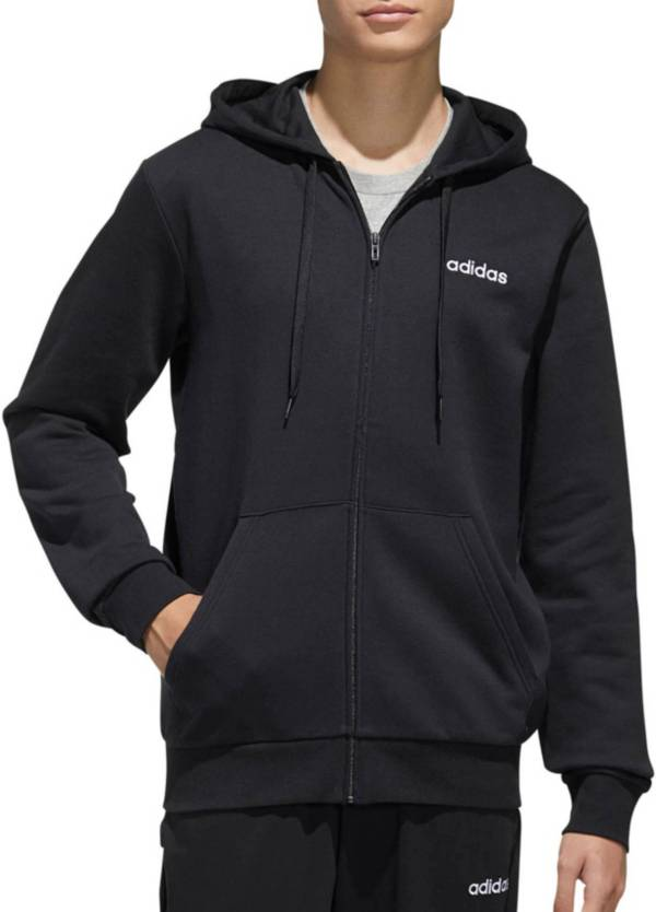 adidas Men's Essentials Feel Cozy Full Zip Hoodie product image
