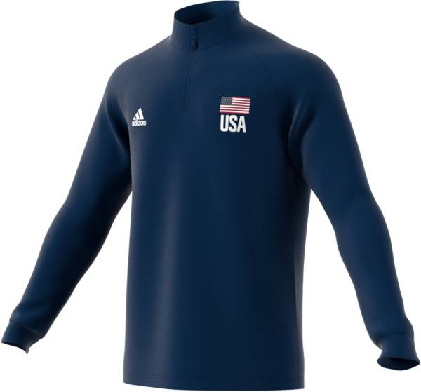 adidas Men's USA Volleyball 1/4 Zip Pullover product image