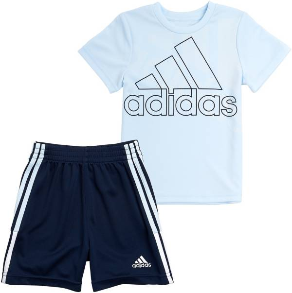 adidas Toddler Boys' Badge of Sport Graphic Short Sleeve T-Shirt and Shorts Set product image