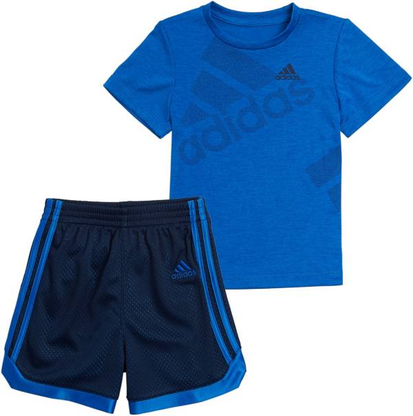 adidas Toddler Boys' Short Sleeve T-Shirt and Mesh Shorts Set product image