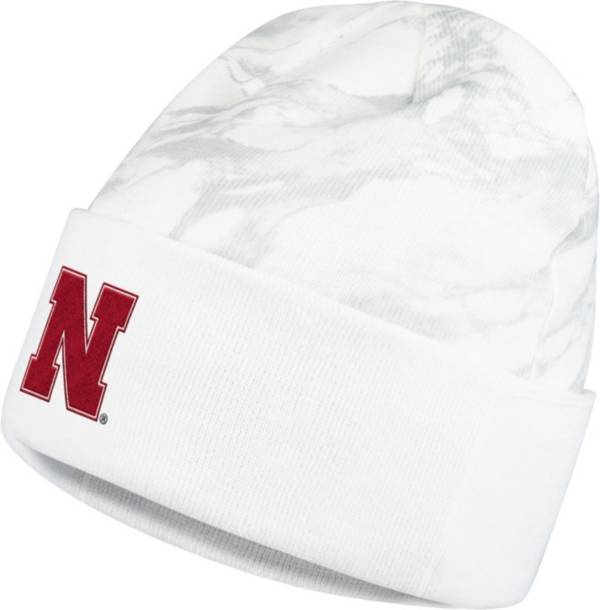 adidas Men's Nebraska Cornhuskers Postseason Cuff Knit Beanie product image