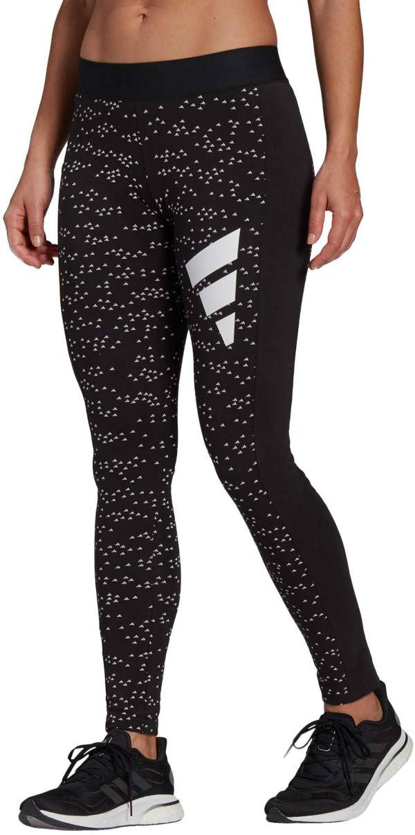 adidas Women's 3 Bar All Over Print Leggings product image