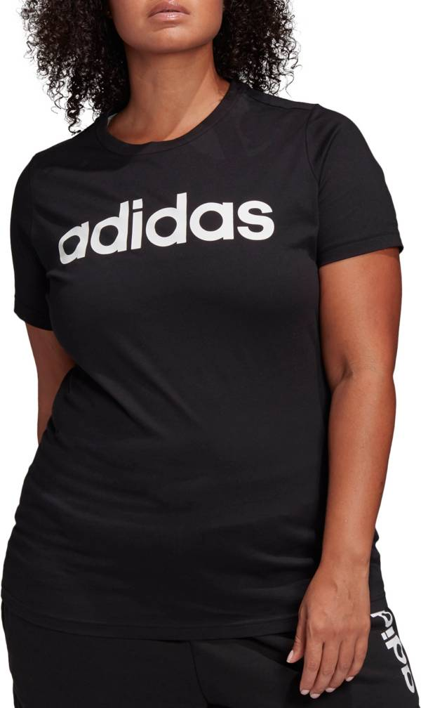 adidas Women's Core Linear Graphic Short Sleeve T-Shirt product image