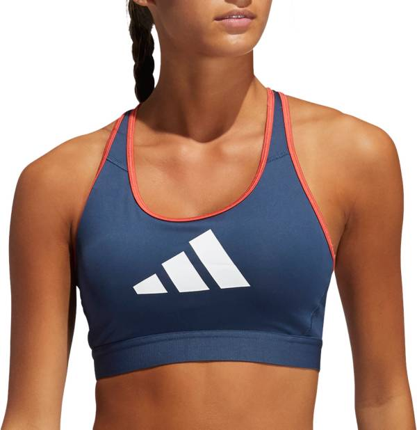 adidas Women's Don't Rest 3 Bar Racerback Medium Support Sports Bra product image