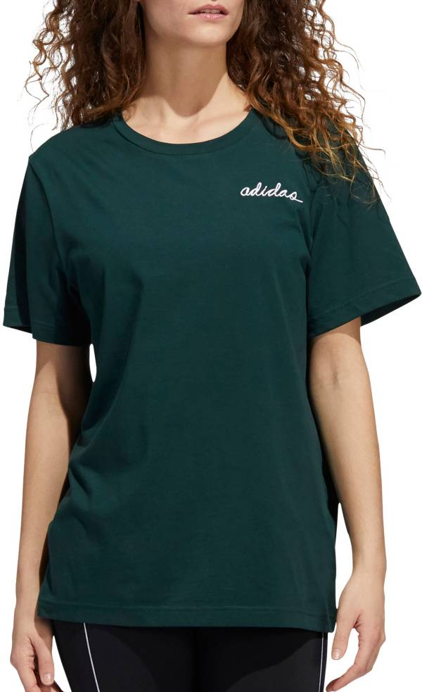 adidas Women's adiScript Boyfriend T-Shirt product image