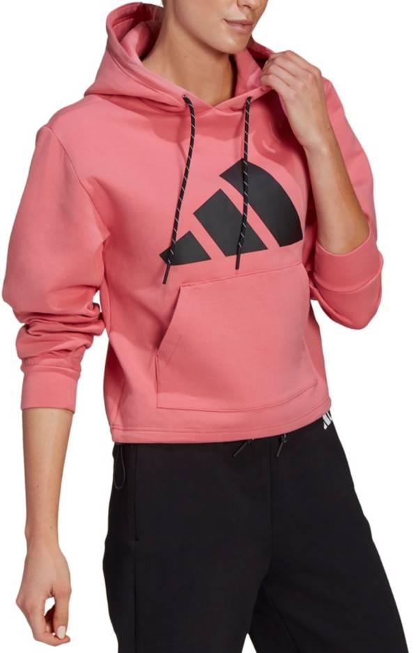 Adidas Women's Logo Doubleknit Hoodie product image