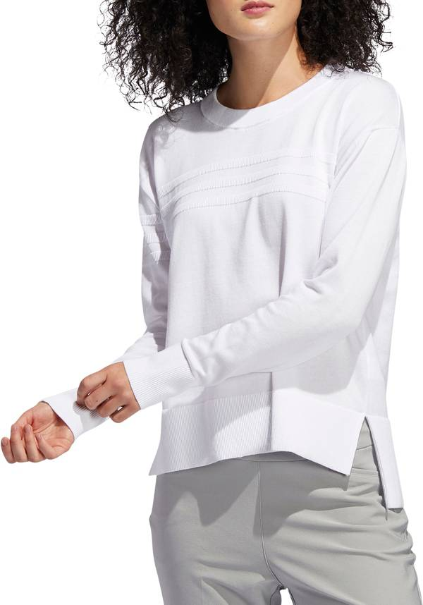 adidas Women's 3-Stripes Golf Sweater product image