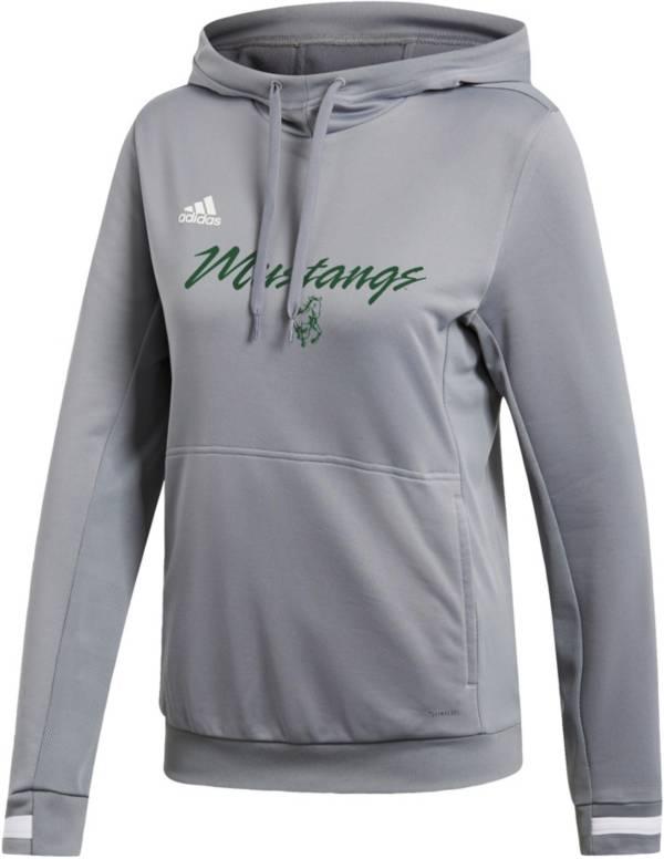 adidas Women's Cal Poly Mustangs  Grey Hoodie product image