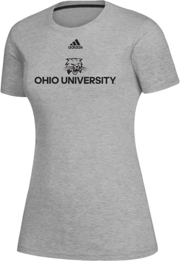 adidas Women's Ohio Bobcats Creator Grey T-Shirt product image