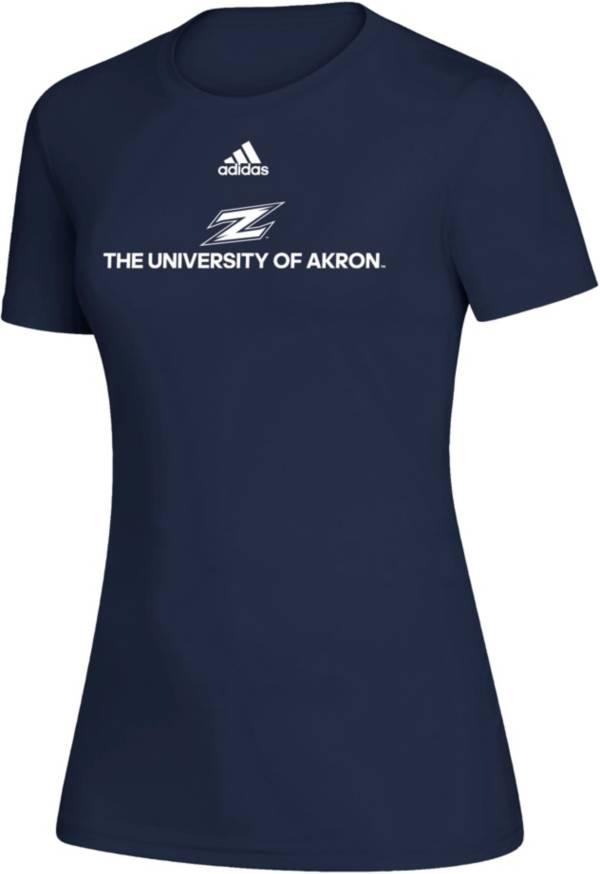adidas Women's Akron Zips Creator Navy T-Shirt product image