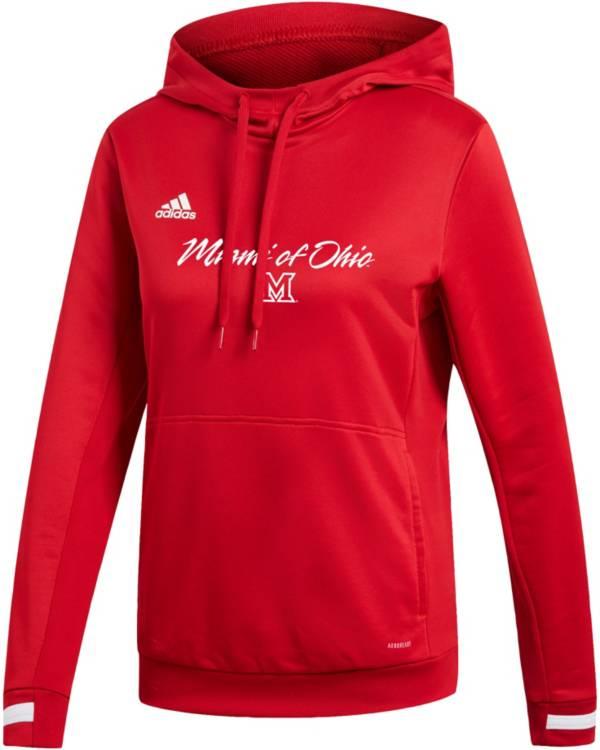 adidas Women's Miami RedHawks   Red Hoodie product image