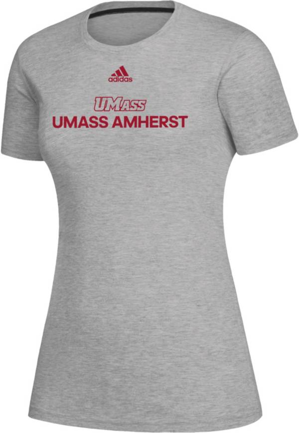 adidas Women's UMass Minutemen Creator Grey T-Shirt product image