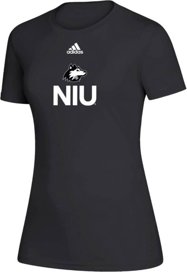 adidas Women's Northern Illinois Huskies Creator Black T-Shirt product image